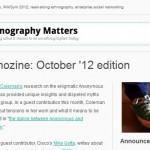 Ethnozine: October edition
