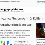 Ethnozine: November 2012 (Anniversary) Edition